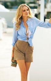 Жіночі замшеві шорти Burdastyle