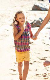 Дитячі шорти з одворотами Burdastyle