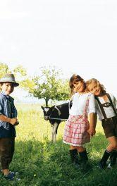 Дитячі замшеві шорти Burdastyle