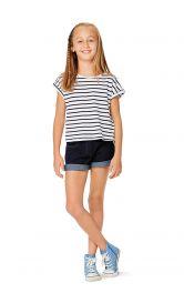 Дитячі джинсові шорти Burdastyle