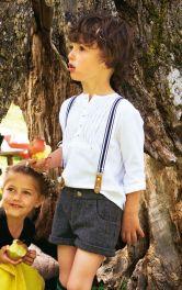 Дитячі шорти в баварському стилі Burdastyle