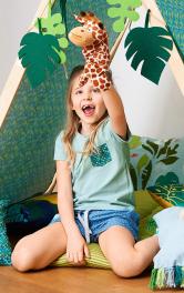 Дитячі шорти на резинці Burdastyle