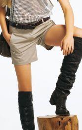 Жіночі шорти в стилі сафарі Burdastyle
