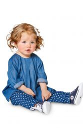 Дитячі фланелеві штанці Burdastyle