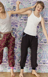 Дитячі штани просторого крою Burdastyle