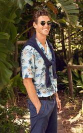 Чоловіча сорочка в гавайському стилі Burdastyle