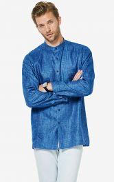 Чоловіча лляна сорочка Burdastyle