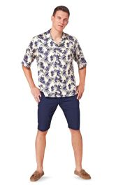 Чоловіча сорочка з короткими рукавами Burdastyle