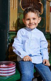 Детская рубашка классического кроя Burdastyle фото 1