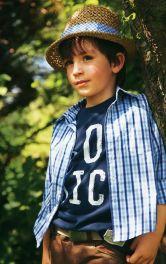 Дитяча картата сорочка Burdastyle