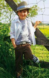 Дитяча сорочка класичного крою Burdastyle