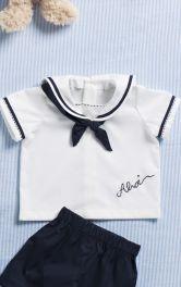 Дитяча сорочка в матроському стилі Burdastyle