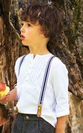 Дитяча сорочка поло Burdastyle