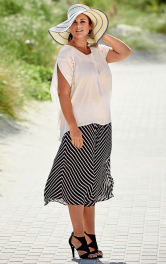 Жіноча спідниця-брюки Burdastyle