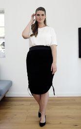 Женская трикотажная юбка Burdastyle фото 1