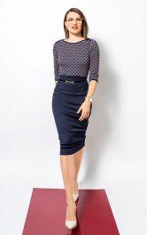 Женская юбка-карандаш Burdastyle