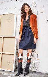 Женская джинсовая юбка фото 1