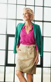 Женская юбка А-силуэта Burdastyle фото 1