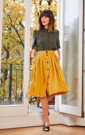 Женская юбка А-силуэта Burdastyle