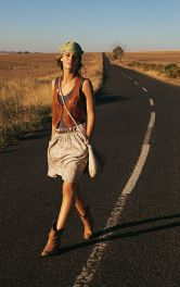 Жіноча спідниця А-силуету Burdastyle
