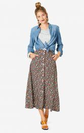 Женская юбка миди Burdastyle фото 1