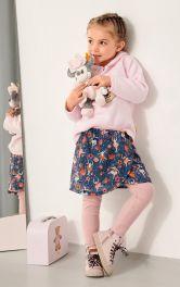 Детская юбка пышного кроя Burdastyle