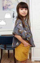 Детская трикотажная юбка Burdastyle фото 1