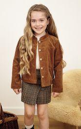 Детская юбка с запахом Burdastyle фото 1