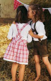 Дитяча спідниця на бретелях Burdastyle