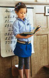 Дитяча трикотажна спідниця Burdastyle