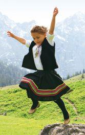 Дитяча спідниця в етно-стилі Burdastyle