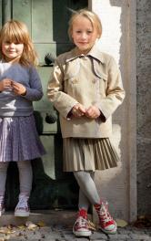 Дитяча спідниця плісе Burdastyle