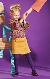 Дитяча спідниця А-силуету Burdastyle