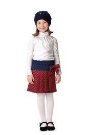 Дитяча спідниця в шотландському стилі Burdastyle