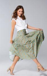 Женская юбка макси Burdastyle
