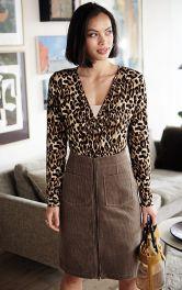 Женская вельветовая юбка Burdastyle фото 1
