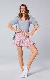 Женская юбка пышного кроя Burdastyle