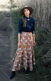 Женская расклешенная юбка Burdastyle фото 1