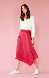 Женская юбка с запахом Burdastyle