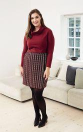 Женская юбка с эффектом запаха Burdastyle фото 1