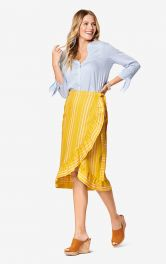 Женская юбка с запахом Burdastyle фото 1