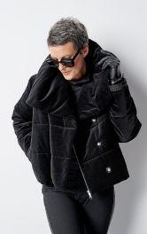 Женская бархатная куртка Burdastyle фото 1