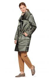 Жіноче стьобане пальто Burdastyle