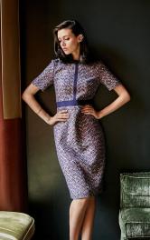 Жіноча сукня-футляр в стилі ретро Burdastyle