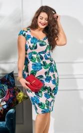 Жіноча сукня-футляр на бретелях Burdastyle