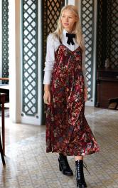 Жіноча сукня на бретелях в стилі 90-х Burdastyle