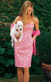 Жіноча сукня-корсаж Burdastyle