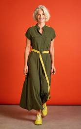 Женское платье рубашечного кроя Burdastyle фото 1