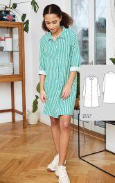 Жіноча сукня-сорочка Burdastyle