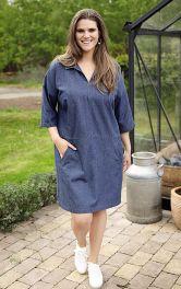Жіноча джинсова сукня Burdastyle